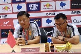China sebut kelelahan jadi penyebab kalah dari Timnas U-19, persiapan sangat singakat
