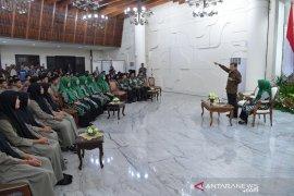 Jusuf Kalla sambut kunjungan siswa Athirah Makassar di Istana Wapres RI