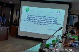 Pemprov Kaltim-Ombudsman MoU Peningkatan Kualitas Pelayanan Publik