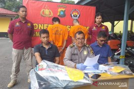 Polres Belitung ringkus dua pelaku curanmor