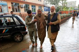 Bom di Afghanistan saat shalat Jumat tewaskan  29 orang