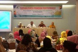 Balai POM Pekanbaru gencarkan sosialisasi penambahan pangan bergizi pada produk