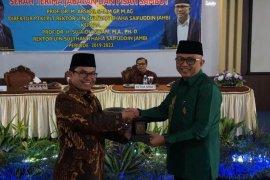 Prof Suaidi Asy'ari awali hari pertama kerja sebagai Rektor UIN Jambi