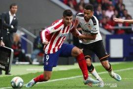 Liga Spanyol, Atletico gagal menang lagi setelah ditahan Valencia 1-1