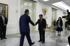 Wapres Jusuf kalla terima kunjungan kehormatan Wapres China
