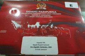 Bupati Samosir diundang ke pelantikan Presiden