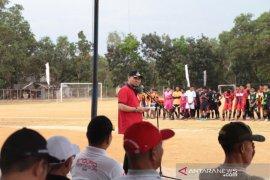 Wabup buka kejuaraan sepakbola Bupati Cup 2019