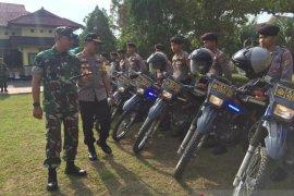 Polres lakukan netralisasi titik rawan menjelang pelantikan presiden