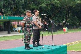 Dandim 0201/BS: Sinergitas TNI-Polri menjaga Kota  Medan