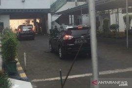 Wiranto kembali ke RSPAD Gatot Soebroto setelah hadiri silaturahmi, untuk perawatan