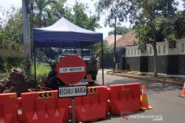 Jalan akses masuk rumah Ma'ruf Amin ditutup untuk umum