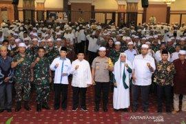 Polisi bersama tokoh masyarakat gelar doa bersama jelang pelantikan presiden