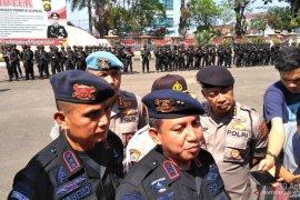 Polda Jambi kerahkan 500 personil Polri/TNI jelang pelantikan Presiden