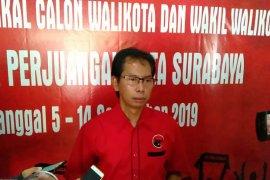 PDI Perjuangan Surabaya doa bersama untuk pelantikan Jokowi-Ma'ruf