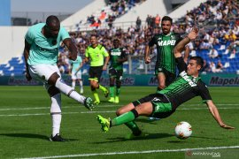 Inter Milan menang atas Sassuolo, kembali buntuti Juventus