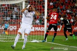 Real Madrid dikalahkan Mallorca