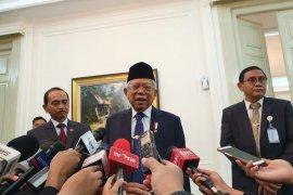 Wapres Ma'ruf temu bilateral dengan tiga wapres negara sahabat