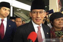 Sandiaga Uno nilai pidato Jokowi harapan bagi bangsa tumbuh lebih tinggi