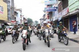 Pelantikan Presiden, TNI-Polri di Medan patroli skala besar