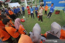 BPBD Gorontalo edukasi siswa cara pencegahan dan penanggulangan bencana