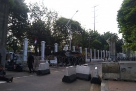 Jelang pelantikan, Panser Anoa disiagakan di sekitar Gedung Parlemen