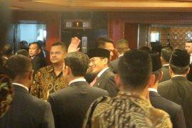 Pelantikan Presiden, Prabowo-Sandiaga tiba di kompleks  parlemen