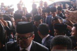 Prabowo-Sandi tiba di gedung MPR hadiri pelantikan Presiden