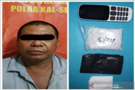 Subdit 3 Ditresnarkoba Polda Kalsel ringkus pedagang saat hendak bertransaksi sabu-sabu