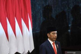 Joko Widodo dan KH Ma'ruf Amin resmi dilantik  sebagai Presiden-Wapres RI