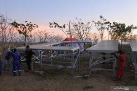 Pembangkit listrik tenaga surya untuk pompa air