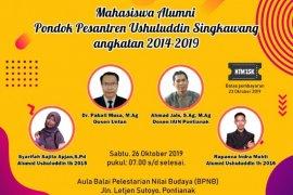 """Alumni Pondok Pesantren Ushuluddin Singkawang gelar """"Meet and Greet"""" di Pontianak"""