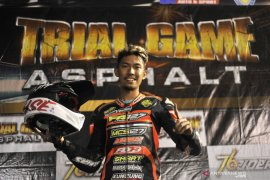 Pebalap Malang Farudila incar juara umum FFA 250 Trial Game Asphalt 2019