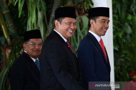 Pelantikan Presiden dihadiri 689 anggota MPR