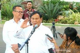 Prabowo isyaratkan dua kader Gerindra masuk kabinet Jokowi