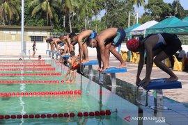 Stadion renang Amandit Aquatic Center HSS dibuka kembali untuk atlet dan umum