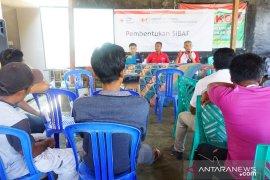 PMI NTB bentuk relawan Sibat di desa terdampak bencana gempa