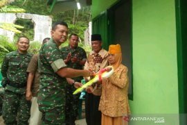 Dandim 0212/TS resmikan rumah veteran di Kota Padangsidimpuan