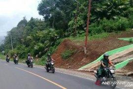 Pasca pelantikan Presiden TNI - Polri Pargarutan tetap berpatroli
