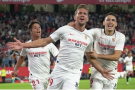 Sevilla tutup laga pekan kesembilan di posisi keenam