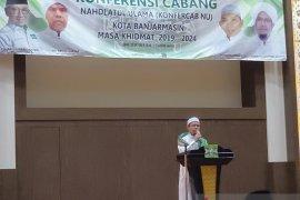 Habib Ali pimpin PCNU Banjarmasin