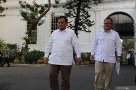 Prabowo Subianto siap bantu Presiden Jokowi di bidang pertahanan