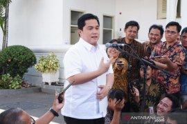 Meski berat tinggalkan perusahaan, tapi Erick Thohir siap bantu Presiden Joko Widodo