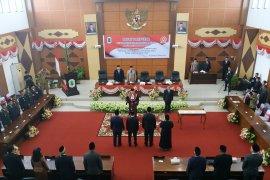 Paripurna pengucapan sumpah janji jabatan Pimpinan DPRD Kapuas Hulu
