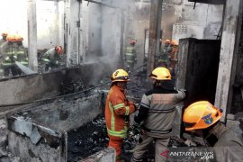Kantor Pasukan Pengibar Bendera Kota Bandung hangus terbakar