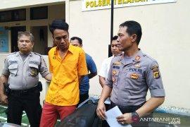 Kabur saat ditangkap, polisi tembak kaki pelaku curanmor