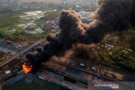 Kebakaran Pipa Minyak Pertamina
