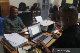 Pemred SKH Kabar Timur laporkan kasus pengancaman ke Polres  Ambon