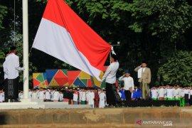 5.000 santri Kota Tangerang ikuti Upacara HSN 2019