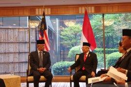 Saat bertemu Raja Malaysia, Wapres Ma'ruf minta pekerja migran dilindungi