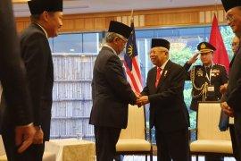 Wapres Ma'ruf Amin  dan Raja Malaysia bahas upaya perangi radikalisme
